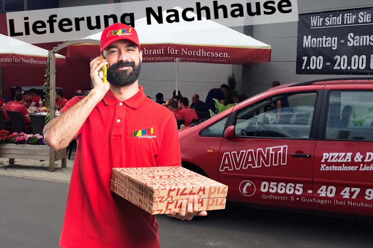 Pizza & Döner Taxi +49 5665 404796